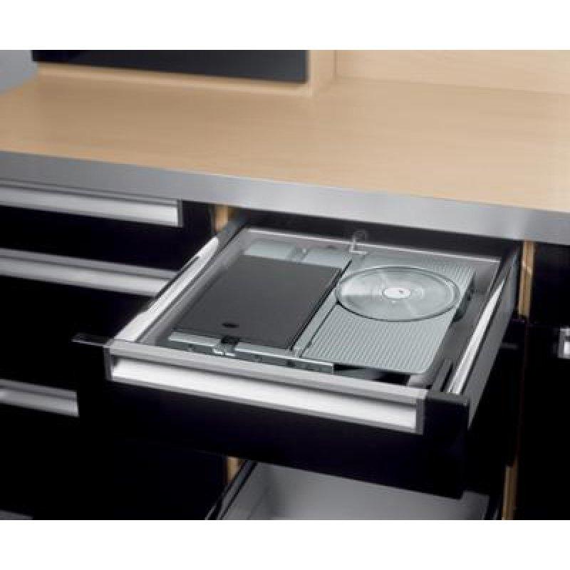 ritter einbau allesschneider aes 62 sr silbermetallic rechts 396970. Black Bedroom Furniture Sets. Home Design Ideas
